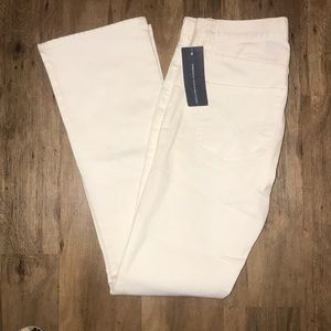 French Connection white Jeans NWT 6